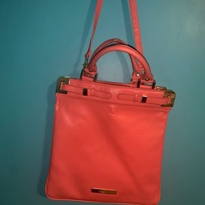CORAL PINK PURSE